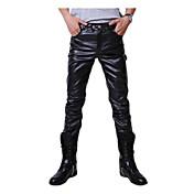 Men's Punk & Gothic Slim Skinny Slim Pant...
