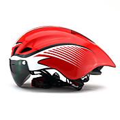ヘルメット バイクヘルメット 6 通気孔 SGS CE サイクリング 超軽量(UL) スポーツ 青少年 PC EPS ロードバイク レクリエーションサイクリング サイクリング / バイク マウンテンバイク