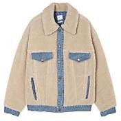 レディース カジュアル/普段着 秋 ジャケット,ストリートファッション シャツカラー プリント レギュラー コットン 長袖