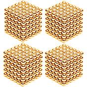 Juguetes Magnéticos Imanes magnéticos superfuertes Bolas magnéticas Antiestrés 4 Piezas 3mm Juguetes Alivio del estrés y la ansiedad