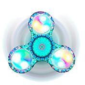 Fidget spinners Hilandero de mano Juguetes Tri-Spinner Spinner LED Alivio del estrés y la ansiedad Juguetes de oficina Por matar el