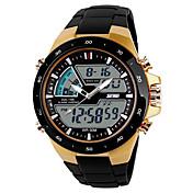 SKMEI Hombre Reloj Deportivo Reloj Casual Reloj digital Digital Plastic Banda Negro
