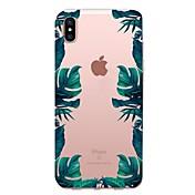 Funda Para Apple iPhone X iPhone 8 iPhone 8 Plus Transparente Diseños Cubierta Trasera Árbol Suave TPU para iPhone X iPhone 8 Plus iPhone
