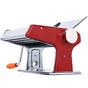 キッチンレッドステンレス多機能マニュアル麺メーカーマシン