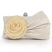 Mujer Bolsos Seda Bolso de Mano Apliques Beige / Bolsos de boda / Bolsos de boda