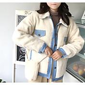 コート レギュラー レディース,お出かけ カジュアル/普段着 プリント コットン コットン-ストリートファッション 長袖