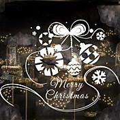 花柄/植物の クリスマス カートゥン ウォールステッカー プレーン・ウォールステッカー 飾りウォールステッカー,ビニール 材料 ホームデコレーション ウォールステッカー・壁用シール