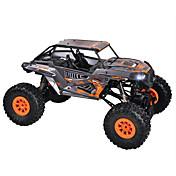 Coche de radiocontrol  WL Toys 10428-D 2.4G Escalada de coches Off Road Car Alta Velocidad 4WD Drift Car Buggy 1:10 12-25 KM / H Control