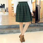 Mujer Bonito Casual/Diario Mini Faldas Otoño Estampado