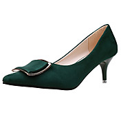 Women's Shoes Nubuck leather Spring Comfo...