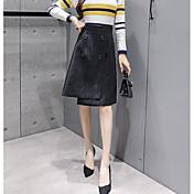 レディース キュート ストリートファッション カジュアル/普段着 ミニ スカート ゼブラプリント 秋