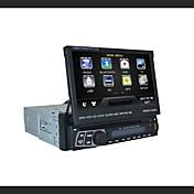 7インチ1インチ液晶タッチパネルデジタルパネルカーDVDプレーヤーサポートGPS。ブルートゥース。ステレオラジオ.rds.touch画面