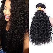Brazilian Hair Kinky Curly Human Hair Wea...