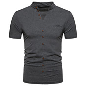 Men's Street chic Polo Stand