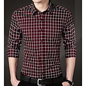 Men's Business Plus Size Shirt - Striped,...