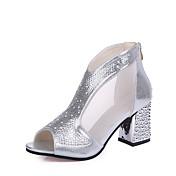 Women's Shoes Rubber Spring Comfort Heels...