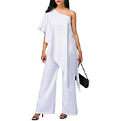 Women's Going out Slim Jumpsuit - Solid C...