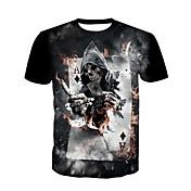 Men's Skull T-shirt - Skull / Short Sleeve