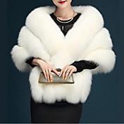 Women's Daily Fall / Winter Short Fur Coa...