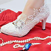 Women's Shoes Lace / Leatherette Spring /...