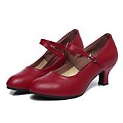 Women's Modern Shoes Cowhide Heel Customi...