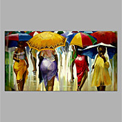 Oil Painting Hand Painted - People Modern...