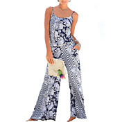 women's going out jumpsuit - floral wide ...