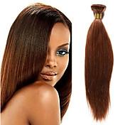 1 Bundle Indian Hair Yaki Remy Human Hair...