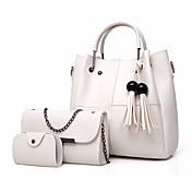 Women's Bags PU(Polyurethane) Bag Set 3 P...