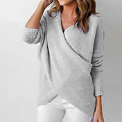 Women's Going out Street chic Split / Wra...