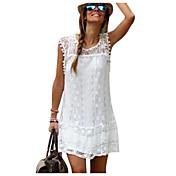 Women's Lace Weekend Mini Shift Dress - S...