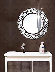 Espelhos Moda 3D Adesivos de Parede Autocolantes 3D para Parede Autocolantes de Parede Espelho Autocolantes de Parede Decorativos,Acrílico