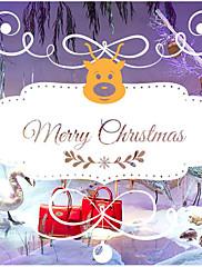 クリスマス ウォールステッカー プレーン・ウォールステッカー 飾りウォールステッカー 材料 ホームデコレーション ウォールステッカー・壁用シール