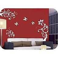 Χαμηλού Κόστους Top Selling Wall Stickers-Άνθη Φαντασία Αυτοκολλητα ΤΟΙΧΟΥ Αεροπλάνα Αυτοκόλλητα Τοίχου Διακοσμητικά αυτοκόλλητα τοίχου, Βινύλιο Αρχική Διακόσμηση Wall Decal Τοίχος