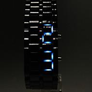 Muškarci Ručni satovi s mehanizmom za navijanje Kalendar / LED Plastic Grupa Šarm Crna