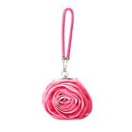 baratos Clutches & Bolsas de Noite-Mulheres Bolsas Cetim Bolsa de Festa Flor Cinzento / Rosa claro / Ivory