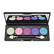 5 Oogschaduwpalet Glinstering Oogschaduw palet Poeder Normaal Dagelijkse make-up