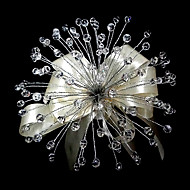 "Wedding Flowers Free-form Roses Bouquets Wedding Crystal Clear 9.84""(Approx.25cm)"