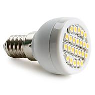 billige Spotlys med LED-1.5 W 2700 lm E14 G9 E26/E27 LED-spotpærer 24 leds SMD 3528 Varm hvit Naturlig hvit AC 220-240V
