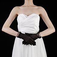 blonde håndledslange handske brudehandsker fest / aften handsker elegant stil