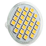 4w e14 gu10 gu5.3 (mr16) e26 / e27 led spotlight mr16 27 smd 5050 200-250lm varm hvit naturlig hvit 2800k