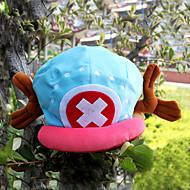 Copricapo Ispirato da One Piece Tony Tony Chopper Anime Accessori Cosplay Costruzione CAP / Cappelli Velluto Per uomo nuovo Costumi Halloween