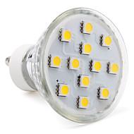 3w gu10 led spot mr16 12 smd 5050 80-100lm sıcak beyaz 2800k ac 220-240v