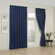 One Panel Curtain Modern Solid Living Room Polyester Material Blackout Curtains Drapes Home Decoration