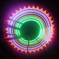 LED Lumini de Bicicletă Lumini de Bicicletă lumini intermitente capac robinet lumini roți Ciclism AAA Baterie Ciclism / IPX-4