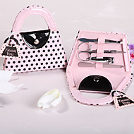 Pink Purse Manicure Kit Wedding Favor