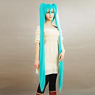 voordelige Gaming cosplay-Cosplay Pruiken Vocaloid Hatsune Miku Anime/ Videogames Cosplaypruiken 150 CM Heren Dames