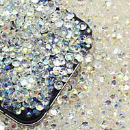200 sztuk 3d paznokci diament biżuteria błyszczące zdobienia paznokci diy dekoracje