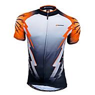 ieftine Nuckily®-Nuckily Bărbați Manșon scurt Jerseu Cycling Bicicletă Jerseu, Uscare rapidă, Respirabil, Κατά του ιδρώτα