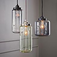 Rétro Traditionnel/Classique Lampe suspendue Pour Salle de séjour Salle à manger Ampoule incluse